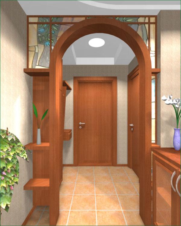Красивая арка в доме 135
